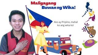 Isang Maikling Tula Para Sa Kabataan l Maligayang Buwan ng Wika!