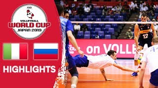 ITALY vs. RUSSIA - Highlights | Men's Volleyball World Cup 2019