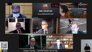 """Pernilongocídio"", brinca ministro Schietti após matar pernilongo durante sessão virtual"