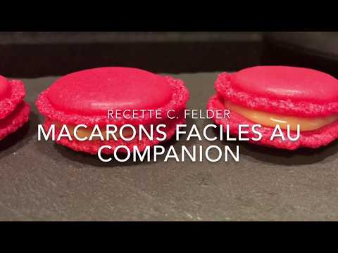 Macarons faciles au Companion de Christophe FELDER