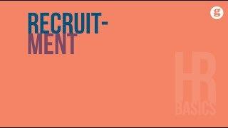 HR Basics: Recruitment