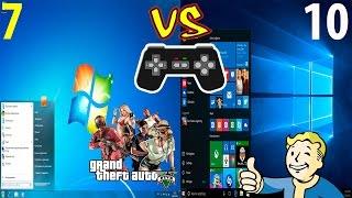 Windows 10 VS Windows 7 in 5 game