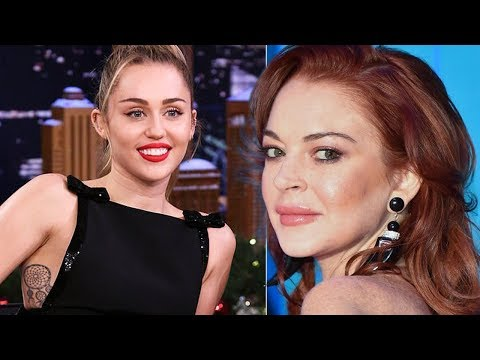 Miley Cyrus defends Lindsay Lohan after negative review of her reality show Mp3