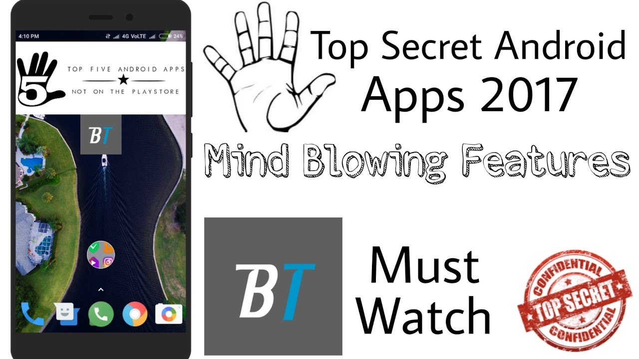 5 Top Secret Android Apps Not On Playstore With Amazing Features Bigtricks In