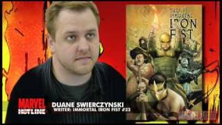 Marvel Hotline: Immortal Iron Fist #22