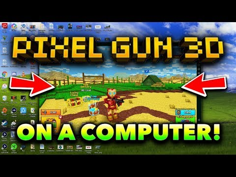 How to Download Pixel Gun 3D on Your Computer! (NEW 2018)