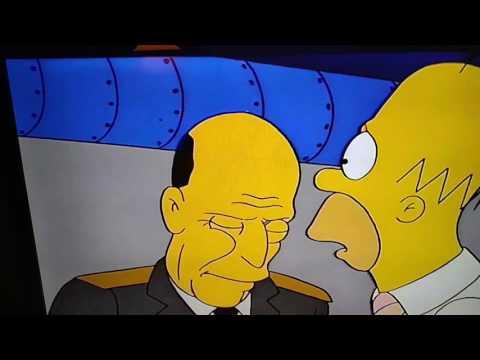 Homer Tells Col Klink about Kinch's radio