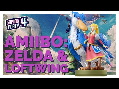 AMIIBO - Vi kollar på Nintendos ZELDA & LOFTWING Amiibo. VINN FIGUREN!