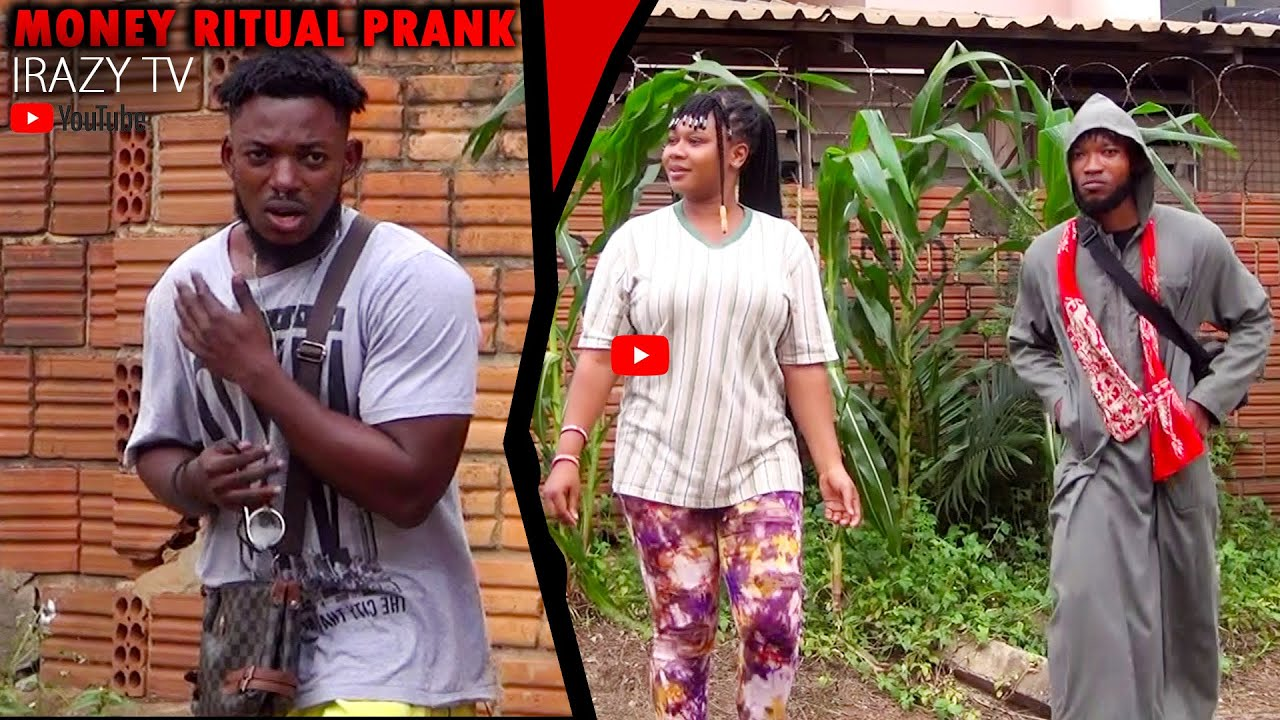 Money Ritual Prank! See What Happens At The End! #irazytv #prankghana