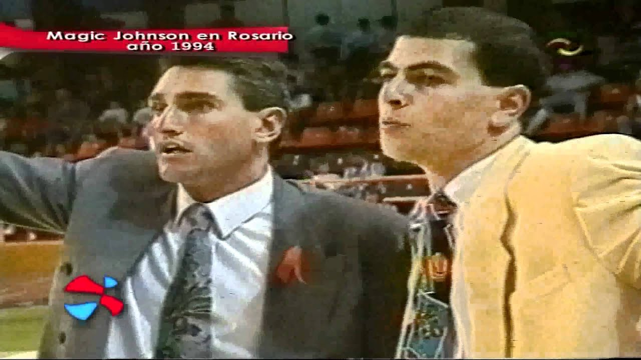 Live basketball tv 45 magic johnson en argentina 1994 for Johnson argentina