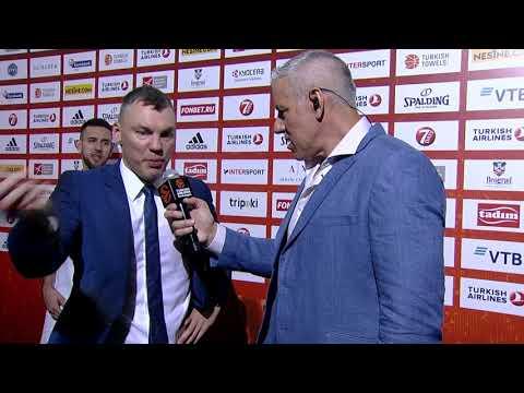 Post-game interview: Coach Jasikevicius, Zalgiris Kaunas