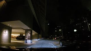 ザ・キャピトルホテル東急 地下駐車場(入庫)