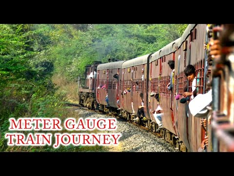 OMKARESHWAR to MHOW : Meter Gauge Train Journey (Indian Railways)