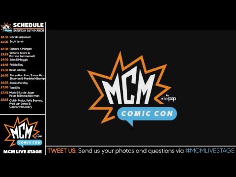 MCM Comic Con London MAY 2018 Live Stream (Saturday)
