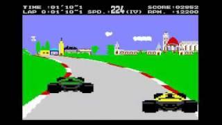 Hungaroring - Commodore 64 C64 F1 GAME gameplay video