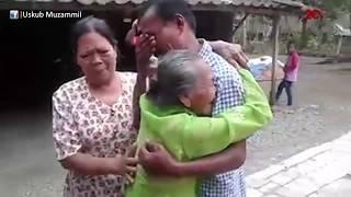 Terharu, Anak dan Ibu Bertemu Setelah 35 Tahun Berpisah