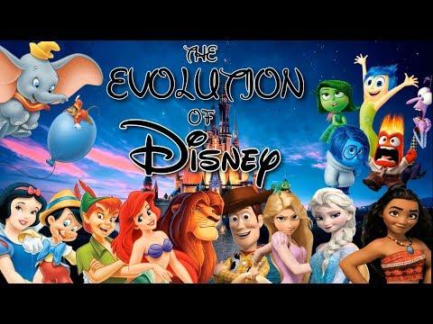 The Evolution Of Disney (1937-2018)