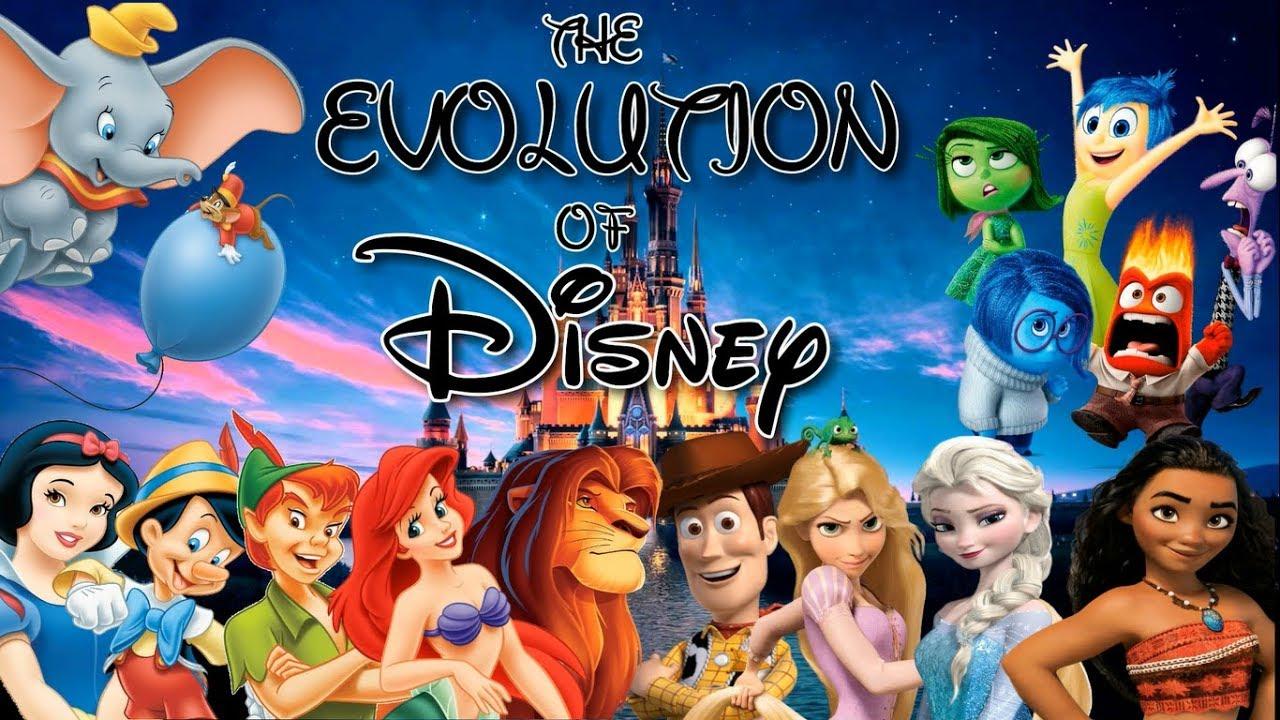 Ver The Evolution Of Disney (1937-2018) en Español