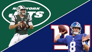 New York Jets vs New York Giants Week 10 2019 Preview