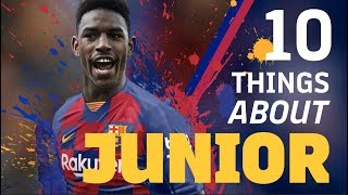 10 THINGS ABOUT JUNIOR FIRPO
