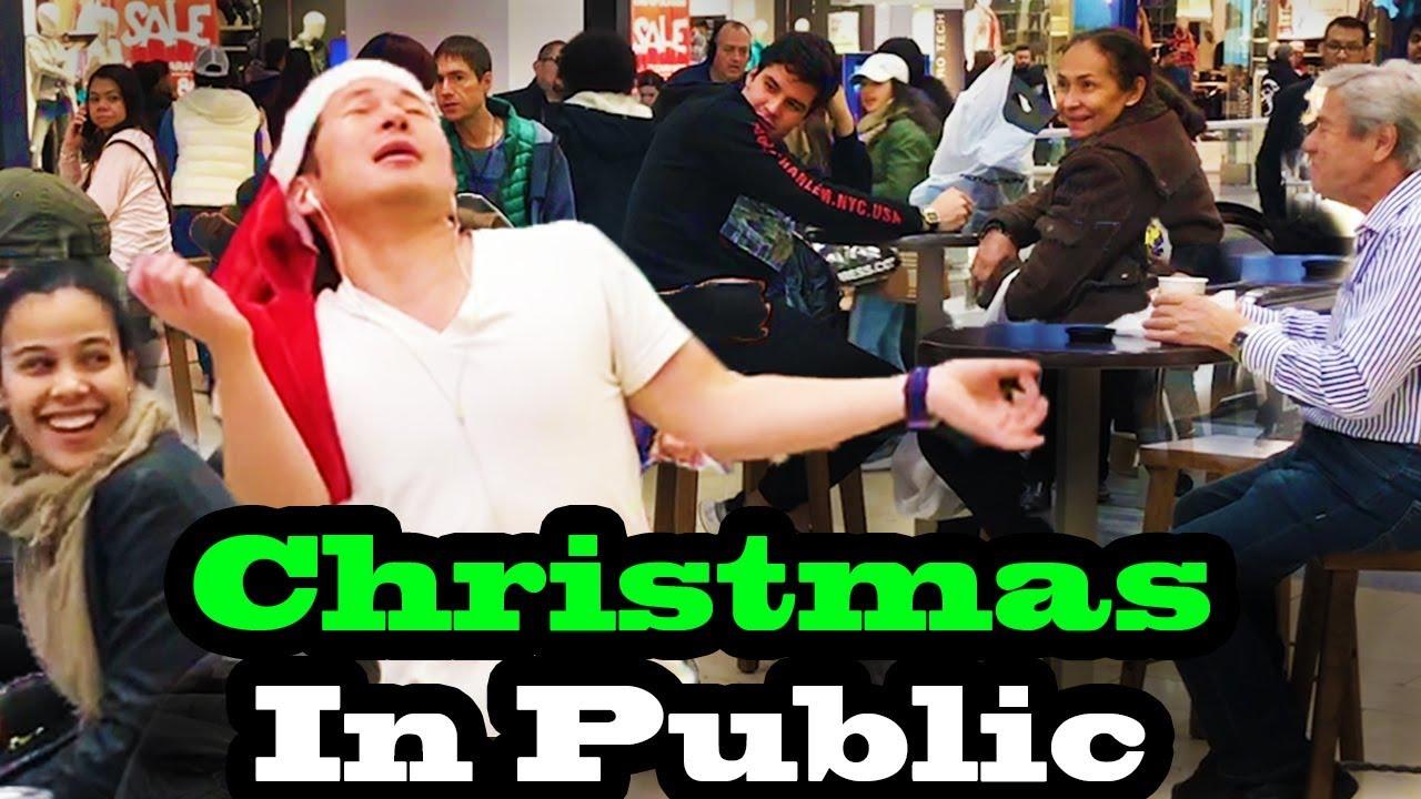 SINGING IN PUBLIC - CH... Mariah Carey Christmas Songs Playlist