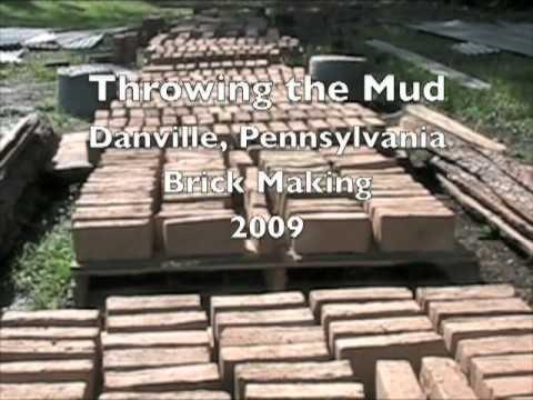 Throwing the Mud.  Pennsylvania Brick Making.