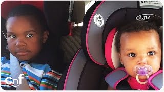 Mommy's Pregnancy Surprise Doesn't Impress Little Boy