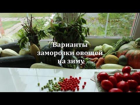Рецепт Заморозка овощей на зиму помидоры, огурцы, перцы, кабачки, баклажаны и другое) без регистрации