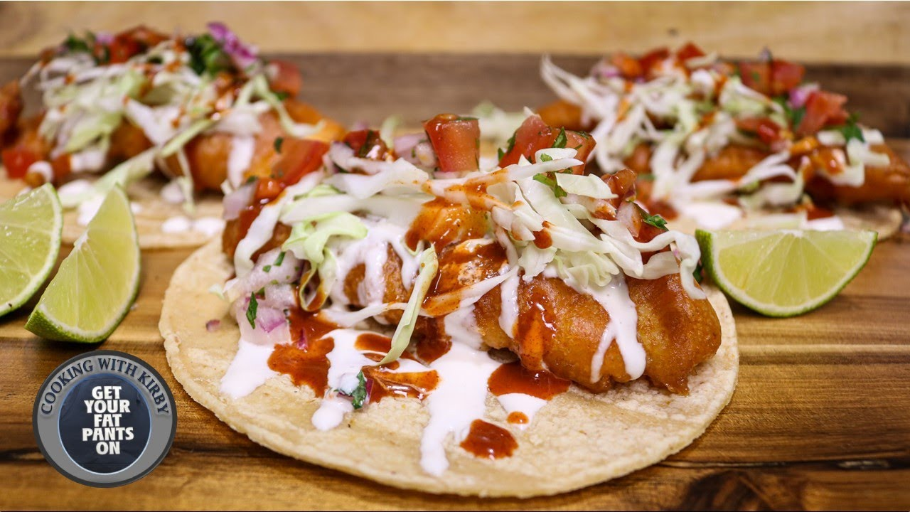 Beer Battered Fish Tacos