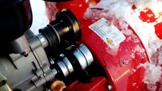 видео Ремни привода снегоуборщика