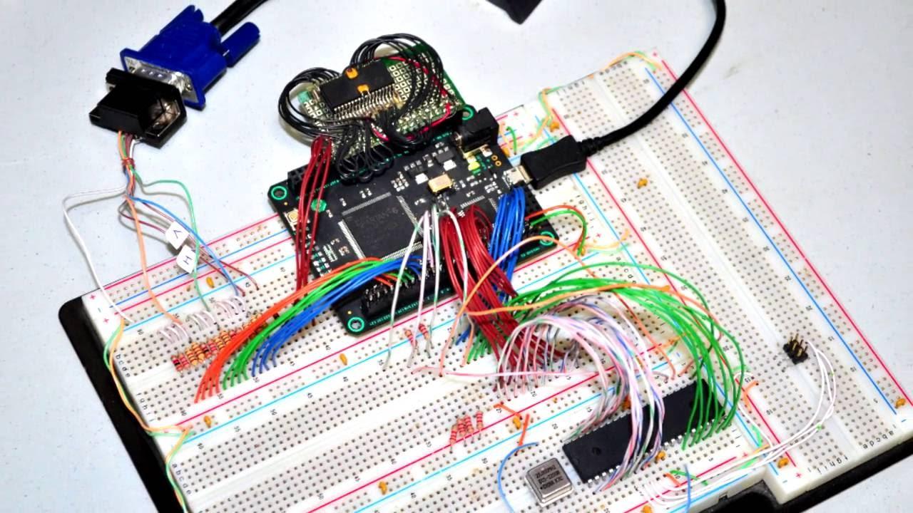 001 - Fusion-6502 - FPGA Test 1 - YouTube