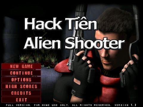 Sử dụng phần mềm gian lận tiền trong Game Alien Shooter lấy tiền