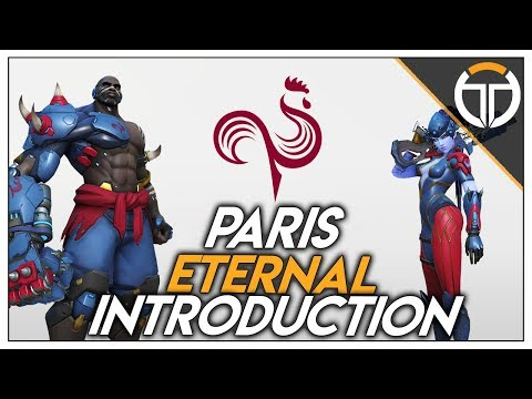 ►INTRODUCTION DES MEMBRES DE L'ÉQUIPE PARIS ETERNAL!!!◄ OVERWATCH FR thumbnail