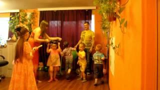 Детский праздник дома.  Весёлые конкурсы для детей.