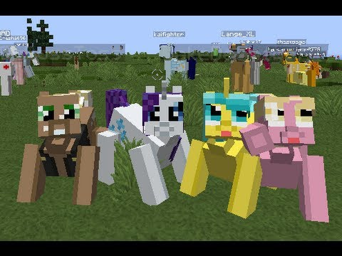 minecraft my little pony - Gahe.Com - Play Free Games Online