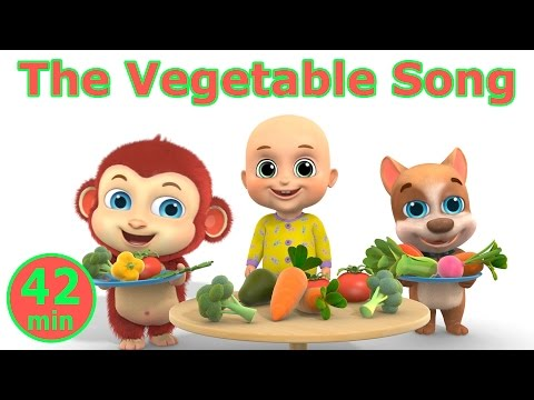 The Vegetable Song | Kindergarten Education Learning for Kid