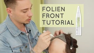 How to apply a Thin Skin System - Folien Front Tutorial mit unserem Nature Bond Stick