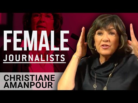WOMEN IN MEDIA - Christiane Amanpour