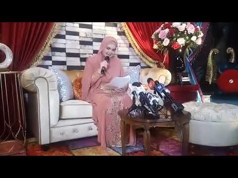 Lintas langsung sesi khas bersama penyanyi nombor satu negara, Datuk Siti Nurhaliza.