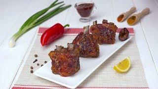 Как приготовить свиные ребра в духовке - Рецепты от Со Вкусом