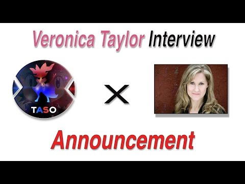 HUGE ANNOUNCEMENT! Veronica Taylor Interview Coming Up!