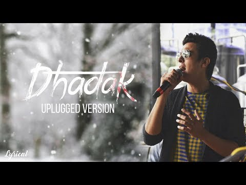 Dhadak Title Track   Unplugged   Ajay Gogavale   Pranay Bahuguna Cover   Lyrical Video
