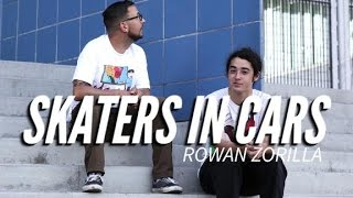 Skaters In Cars: Rowan Zorilla | X Games