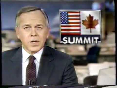 4/5/1987 ABC News Brief - Barry Sarafin Reagan In Canada