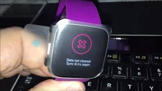 OUT OF THE BOX Fitbit Versa Lite Edition FAIL TO WORK!
