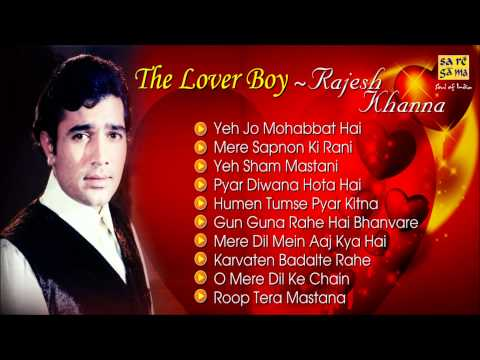 Best Of Rajesh Khanna Romantic Songs Jukebox Evergreen Bollywood Collection