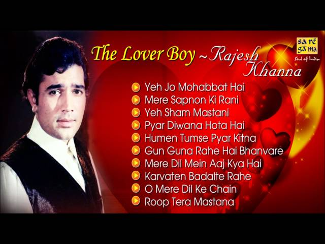 Best Of Rajesh Khanna - Romantic Songs - Jukebox - Evergreen Bollywood Collection Travel Video
