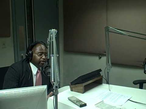 Jonathan Narcisse on Jim Fisher WOC 1420AM 1 of 3