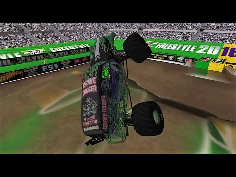 32 Truck World Finals 17 Freestyle - Monster Jam Rigs of Rods