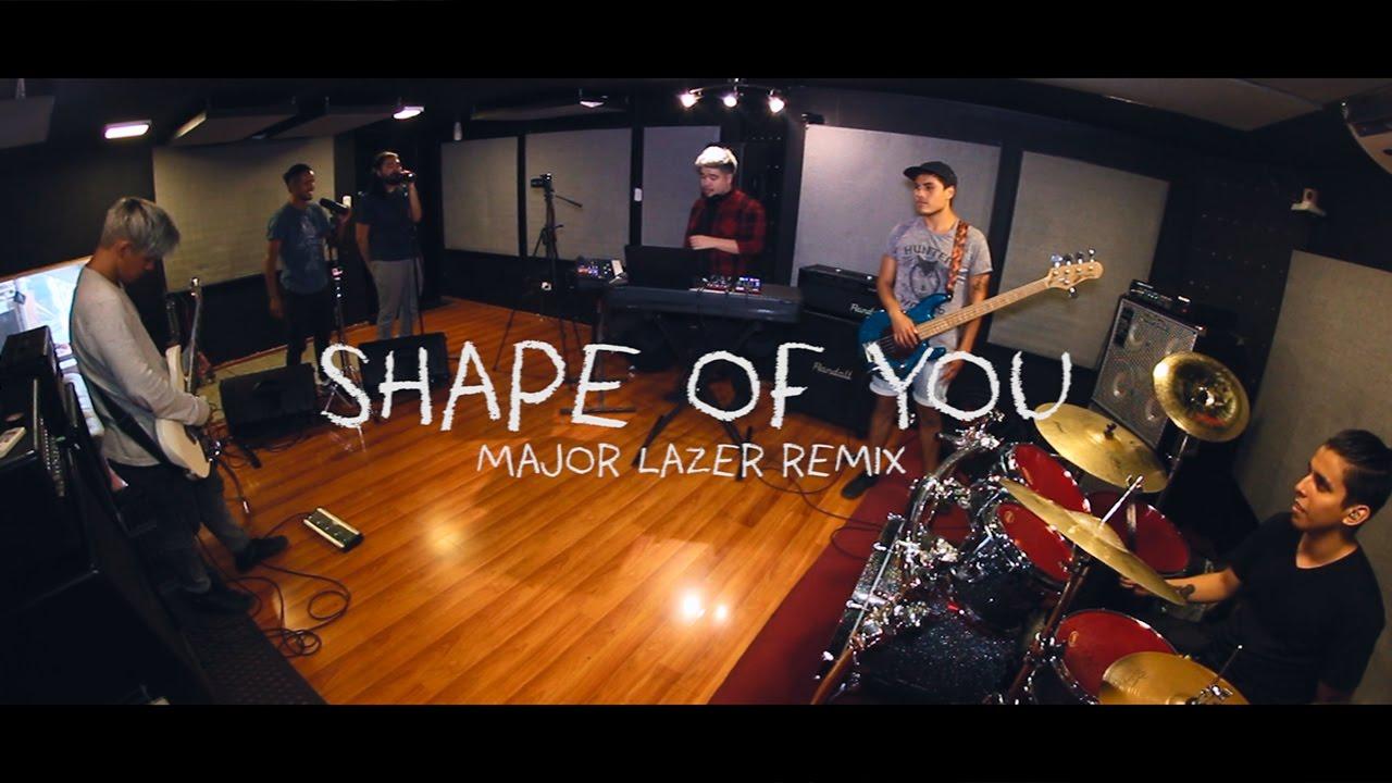 Ed Sheeran - Shape Of You (Major Lazer Remix) [Cover by INTI FALL ...